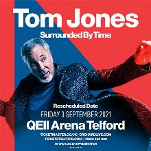 Tom Jones - RESCHEDULED  tickets at QEII Arena in Telford