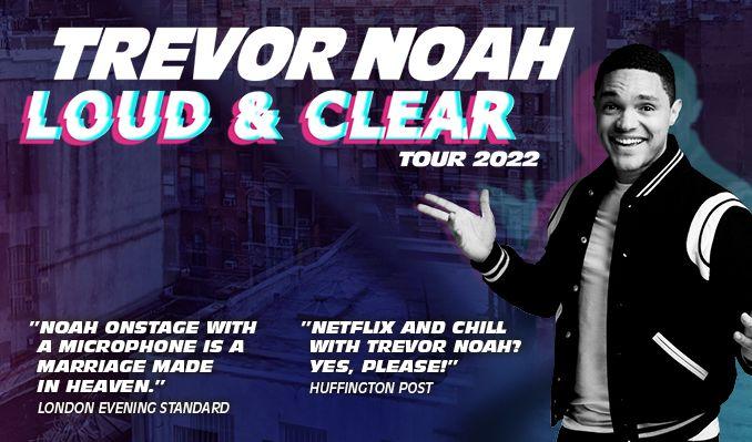 Trevor Noah - NYTT DATUM tickets at Ericsson Globe in Stockholm