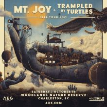 Mt. Joy & Trampled By Turtles tickets at The Woodlands Nature Reserve in Charleston