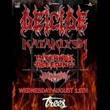 Deicide tickets at Trees in Dallas