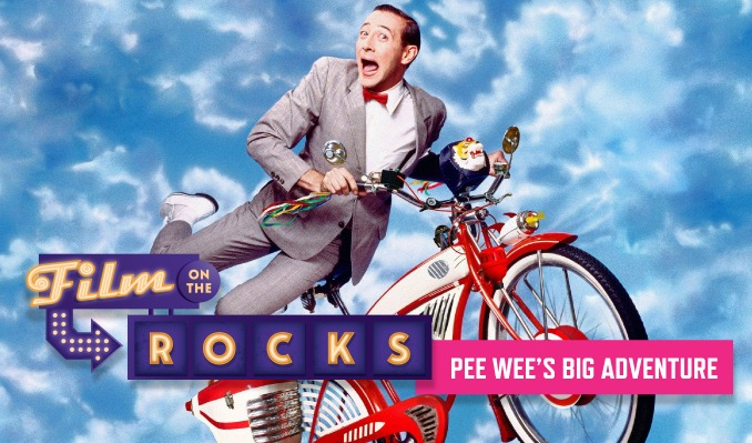 Film On The Rocks Drive-In: Pee-Wee's Big Adventure tickets at Red Rocks Amphitheatre in Morrison