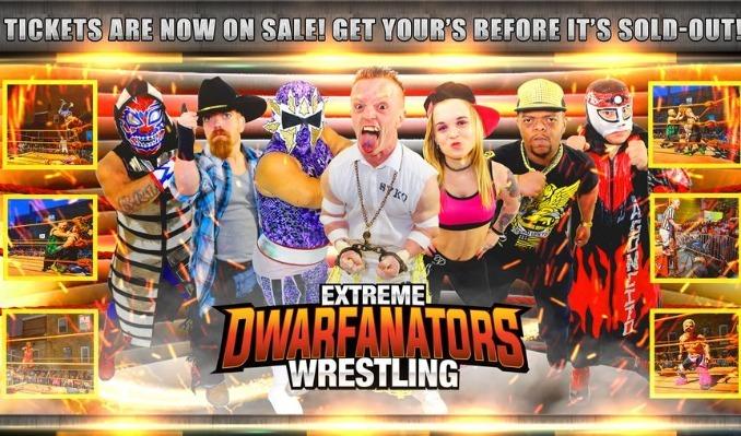 Extreme Dwarfanators Wrestling tickets at Trees in Dallas