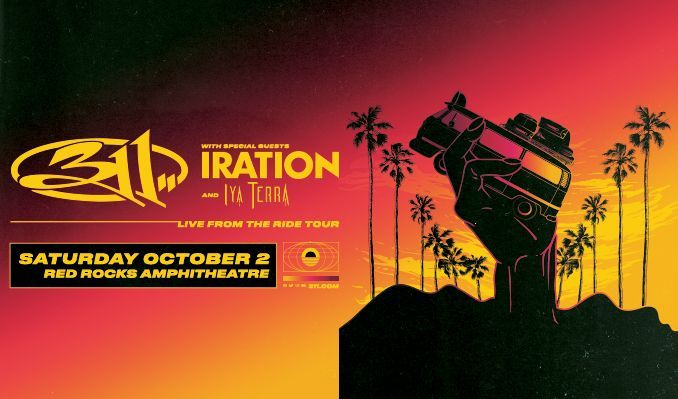 311 tickets at Red Rocks Amphitheatre in Morrison
