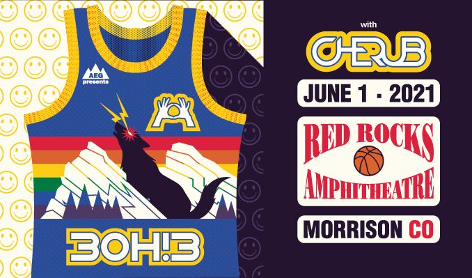 3OH!3 tickets at Red Rocks Amphitheatre in Morrison