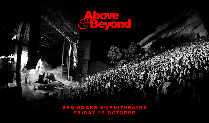Above & Beyond 10/22 tickets at Red Rocks Amphitheatre in Morrison