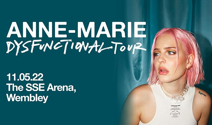 Anne-Marie tickets at The SSE Arena, Wembley in London