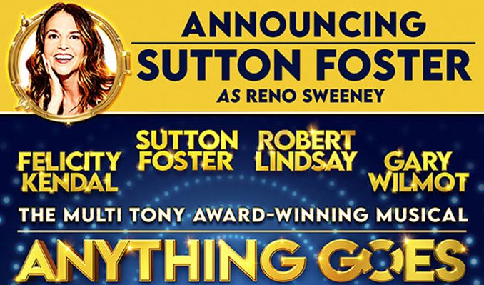 Anything Goes tickets at London Barbican, London