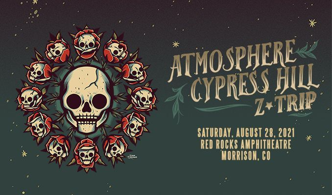 Atmosphere & Cypress Hill tickets at Red Rocks Amphitheatre in Morrison