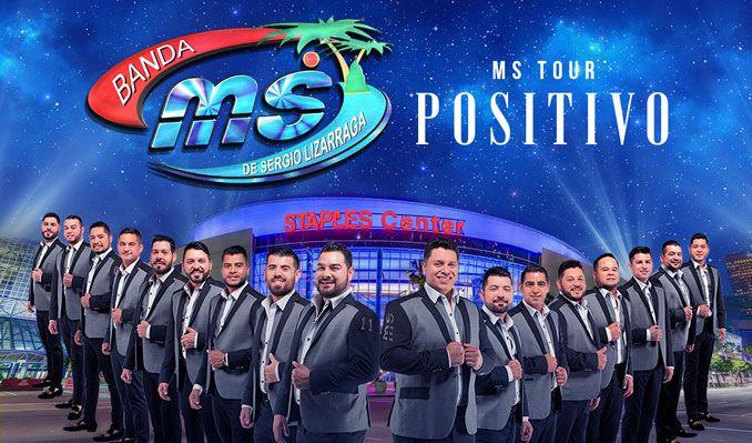 Banda MS de Sergio Lizarraga tickets at STAPLES Center in Los Angeles