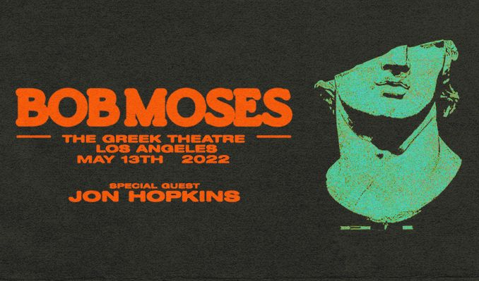 Bob Moses tickets at The Greek Theatre in Los Angeles