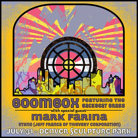 More Info for BoomBox feat BackBeat Brass