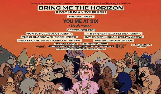 Bring Me The Horizon tickets at The O2 in London