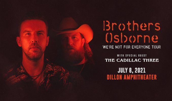 Brothers Osborne tickets at Dillon Amphitheater in Dillon