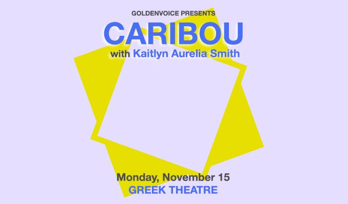 Caribou tickets at The Greek Theatre in Los Angeles