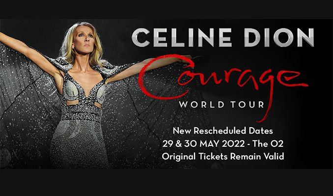 Celine Dion - RESCHEDULED  tickets at The O2 in London