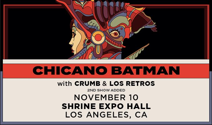 Chicano Batman - 2nd Show Added  tickets at Shrine Expo Hall in Los Angeles