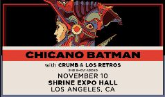 Chicano Batman 2nd Show Added with Crumb & Los Retros