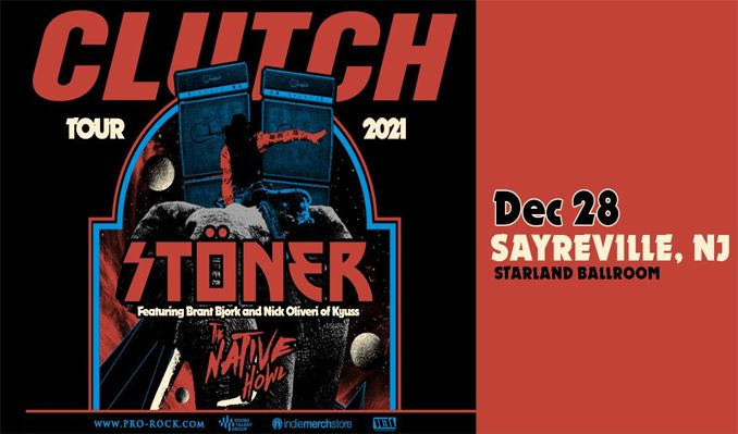 Clutch tickets at Starland Ballroom in Sayreville