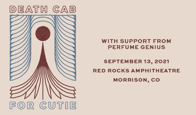 Death Cab For Cutie tickets at Red Rocks Amphitheatre in Morrison