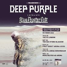 Deep Purple - RESCHEDULED  tickets at AO Arena in Manchester