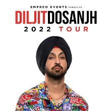 Diljit Dosanjh 2022 Tour - RESCHEDULED tickets at The O2 in London