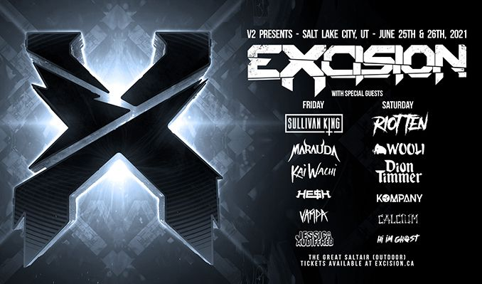 Excision tickets at The Great Saltair Amphitheater in Magna