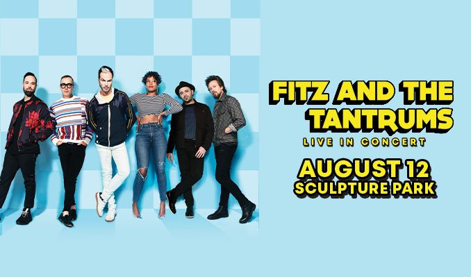 Fitz and The Tantrums tickets at Sculpture Park in Denver