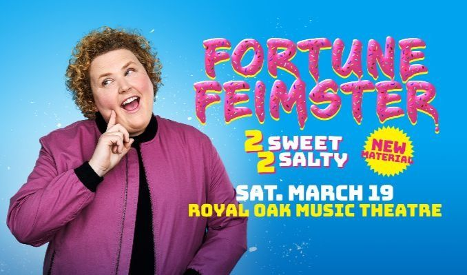 Fortune Feimster tickets at Royal Oak Music Theatre in Royal Oak
