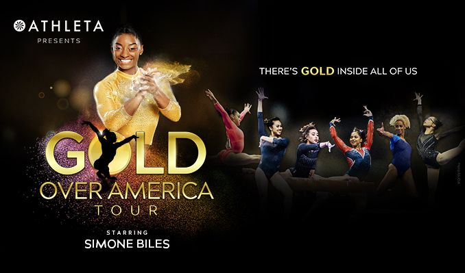 Gold Over America Tour Starring Simone Biles tickets at Barclays Center in Brooklyn