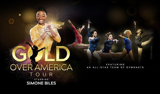 Gold Over America Tour Starring Simone Biles tickets at STAPLES Center in Los Angeles