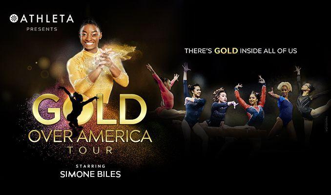 Gold Over America TourStarring Simone Biles  tickets at Maverik Center in Salt Lake City
