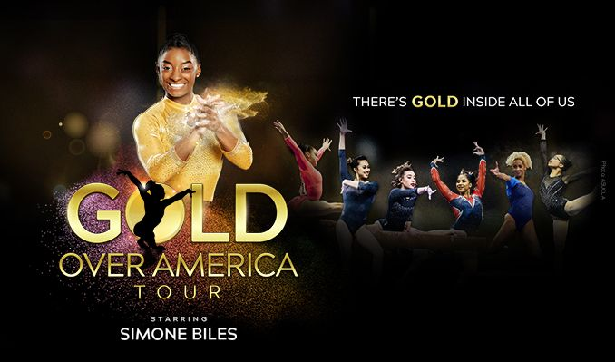 Gold Over America Tour Starring Simone Biles tickets at T-Mobile Center in Kansas City