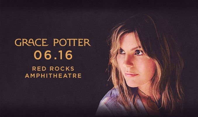 Grace Potter tickets at Red Rocks Amphitheatre in Morrison