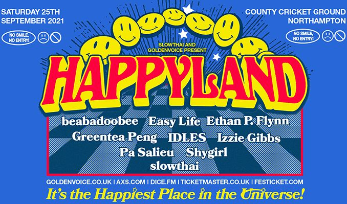 Happyland tickets at Northamptonshire County Cricket Club in Northampton
