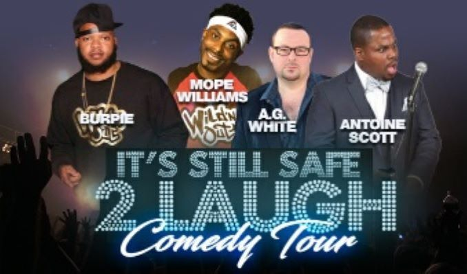 It's Still Safe 2 Laugh tickets at The National in Richmond