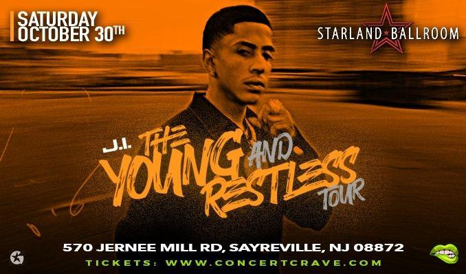 J.I. tickets at Starland Ballroom in Sayreville