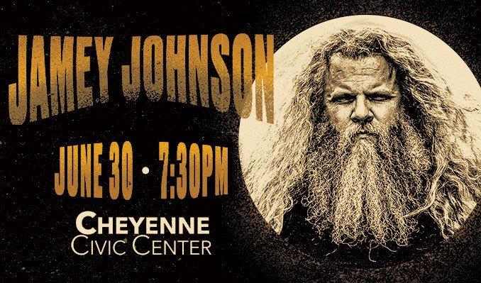 Jamey Johnson tickets at Cheyenne Civic Center in Cheyenne