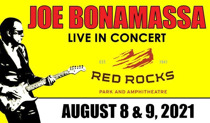 Joe Bonamassa tickets at Red Rocks Amphitheatre in Morrison