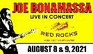 Joe Bonamassa 8/8  tickets at Red Rocks Amphitheatre in Morrison