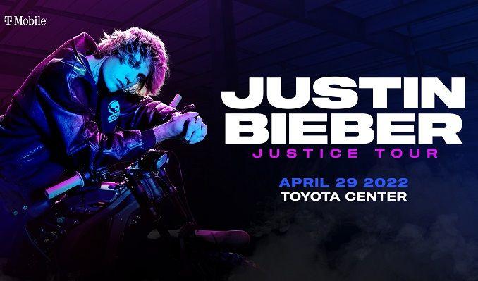 Justin Bieber tickets at Toyota Center in Houston