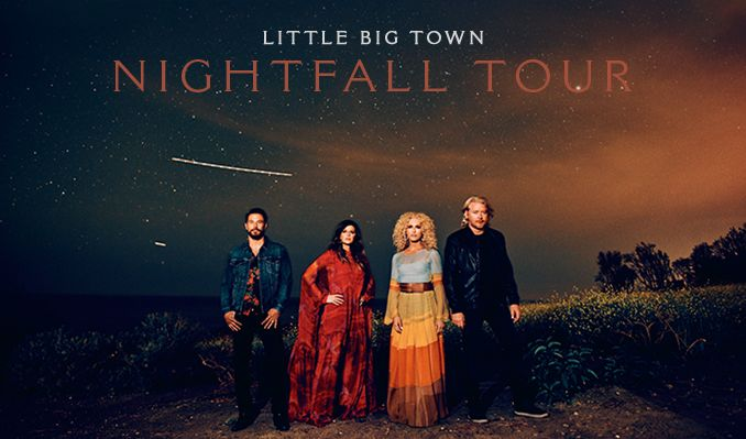 Little Big Town tickets at Santander Performing Arts Center in Reading