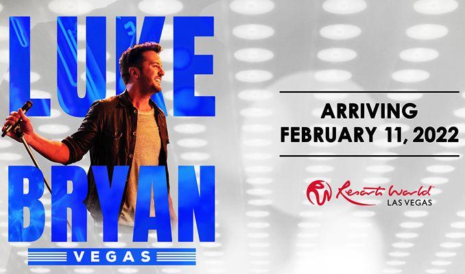 Luke Bryan: Vegas tickets at The Theatre at Resorts World Las Vegas in Las Vegas