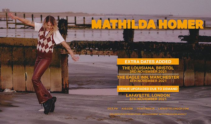 Mathilda Homer tickets at The Louisiana in Bristol