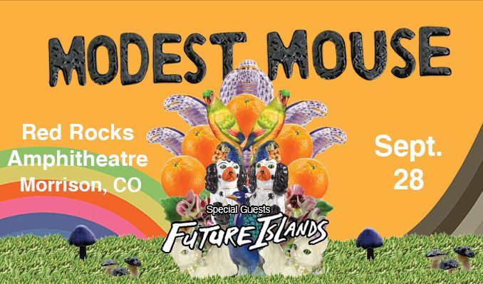 Modest Mouse with special guest Future Islands tickets at Red Rocks Amphitheatre in Morrison
