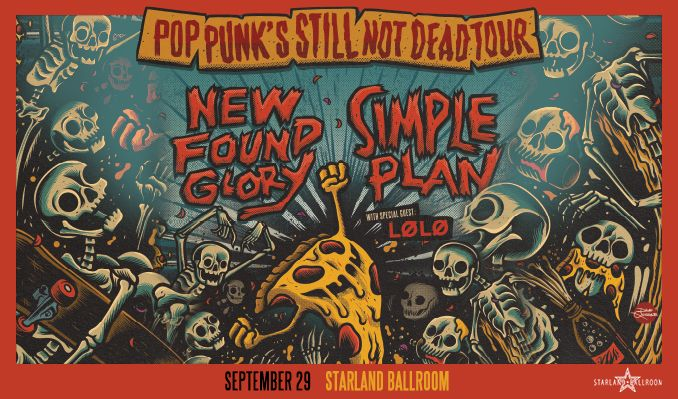 New Found Glory / Simple Plan tickets at Starland Ballroom in Sayreville
