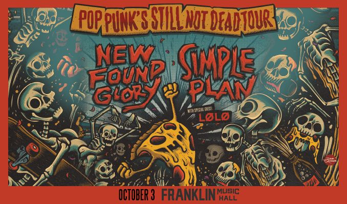 New Found Glory  + Simple Plan tickets at Franklin Music Hall in Philadelphia