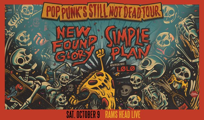 New Found Glory / Simple Plan tickets at Rams Head Live! in Baltimore