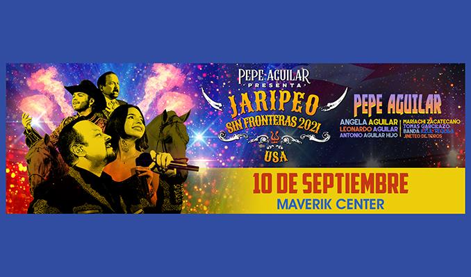 Pepe Aguilar Presenta Jaripeo Sin Fronteras tickets at Maverik Center in Salt Lake City