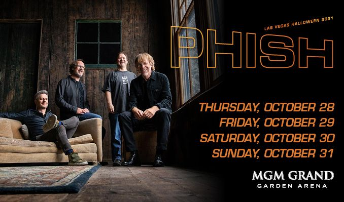 Phish tickets at MGM Grand Garden Arena in Las Vegas