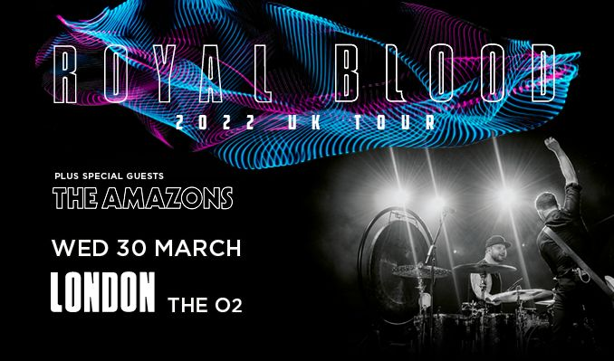 Royal Blood tickets at The O2 in London